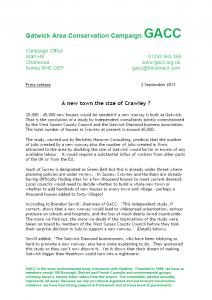 GACC Press Release 02-09-13