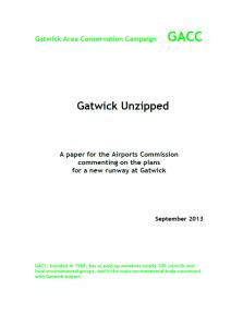 GACC Gatwick Unzipped 04-10-13