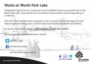 Lake Work Poster