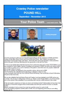 Police Newsletter 01-09-2013
