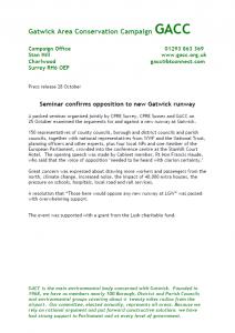 GACC Press Release 28-10-13