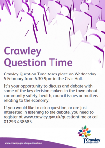 Crawley Question Time