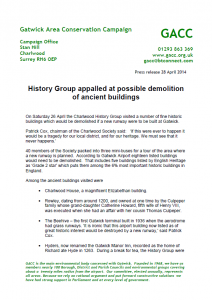 GACC Historic Houses Press Release 28-04-2014
