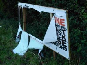 Damaged Banner