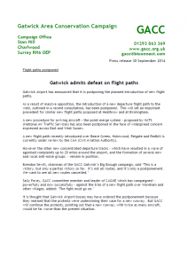 GACC Press Release Flight Paths 30-09-2014<