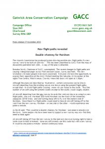 GACC Press Release 19-11-2014<