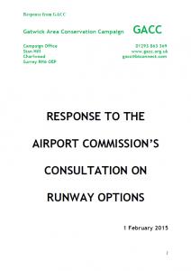 GACC Airport Response