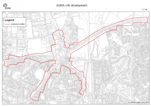 Hazelwick Crawley Avenue Pollution Zone