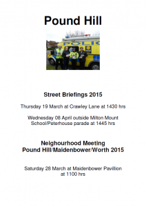 Street Briefings 2015