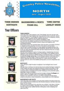 Police Newsletter 20-06-2015