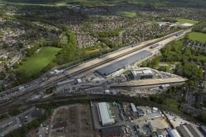 Siemens-three-bridges-traincare-facility-aerial-shot
