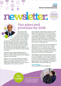 Crawley Newsletter Winter 2015
