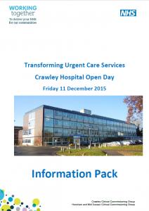 UTC Info Pack 2015