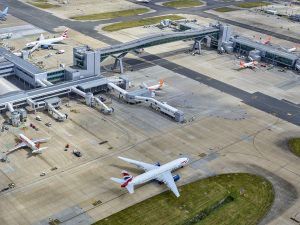 Gatwick Airport passenger numbers