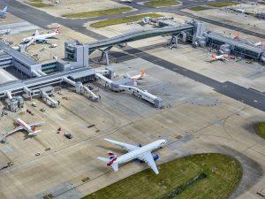 Gatwick Airport passenger numbers